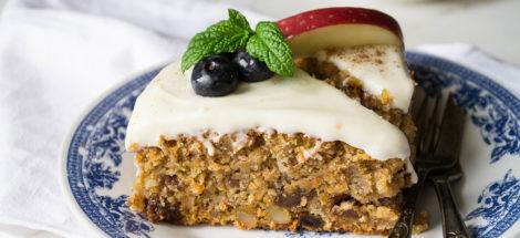 Κέικ Καρότου με Σαντιγύ Dirollo Spread